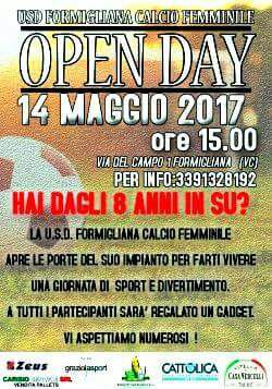 0Open day Formigliana