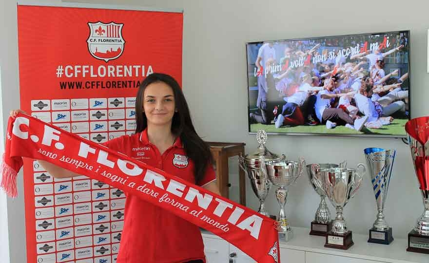 Alma Hilaj will play with the shirt of Florentia in Serie A