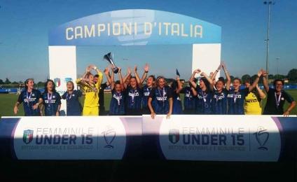 Inter beat Juventus and won the Under 15 championship
