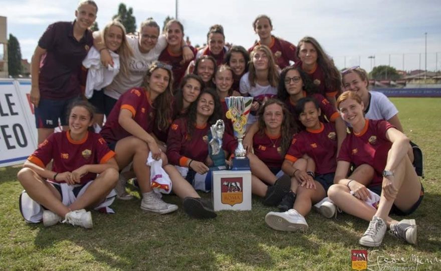 1 ° General Tournament at Roma Women's football