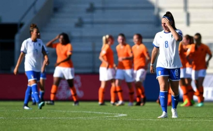 Euro U19, bitter debut for the Azure defeats 3 to 1 from Holland