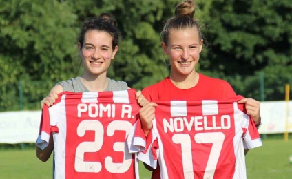 Adventure in the USA for Roberta Pomi and Adele Novello