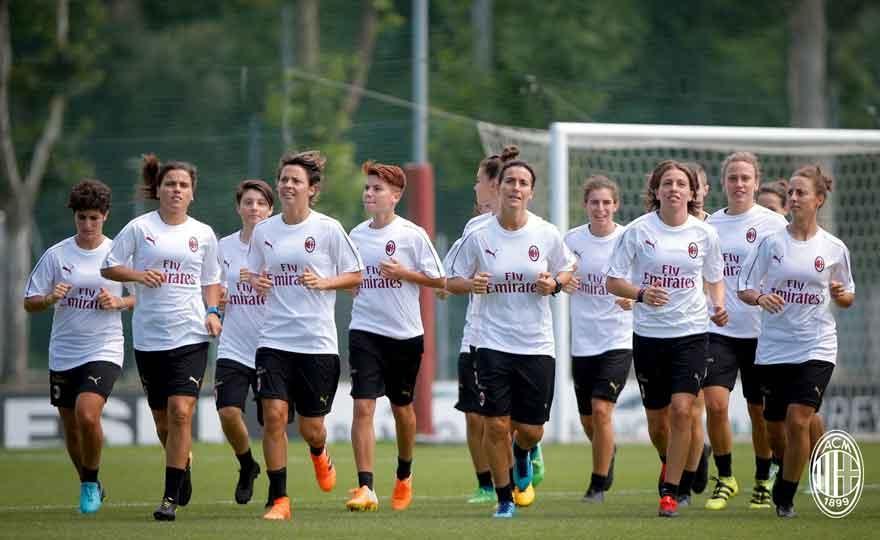 Women's Milan in search of glory