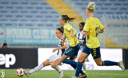 Brondby - Juventus live streaming on calciodonne.it