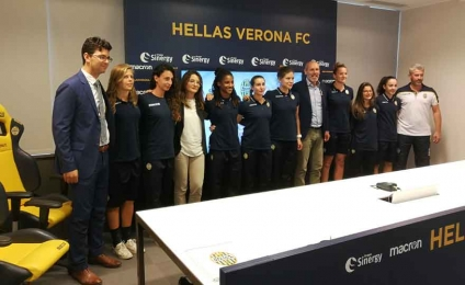 """""""A kick to violence"""": the campaign against violence against women by Hellas Verona Women"""