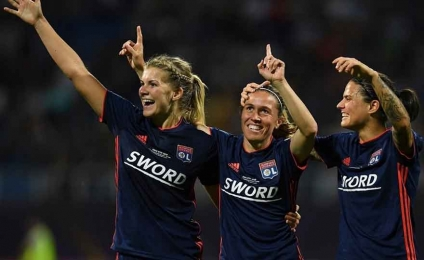 Champions: Lyon, Wolfsburg and Barcelona domination