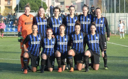 The derby is black and blue, the Inter takes off