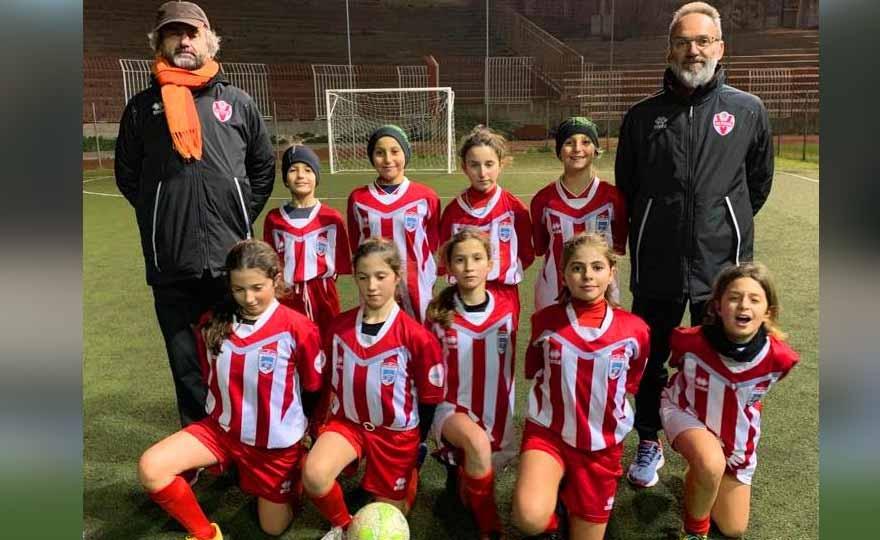 The under 10 of the Vis Pesaro Women's Football history