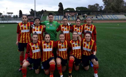 La Salento Women Soccer espugna Aprilia e augura all'infortunata Bassotti una pronta guarigione