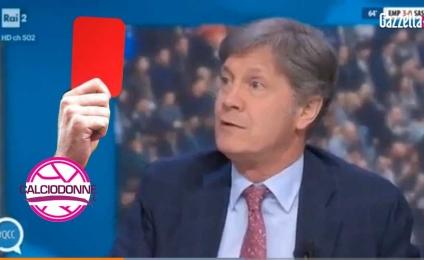 Statements Fulvio Collovati? from red card with tv daspo