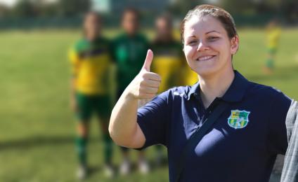 Grifone Gialloverde Under 19: interview with the trainer Raffaella Rosa