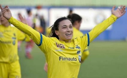 Valeria Pirone female testimonial at the Universiade Napoli 2019