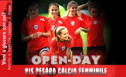 Vis Pesaro Women's Football Open Day