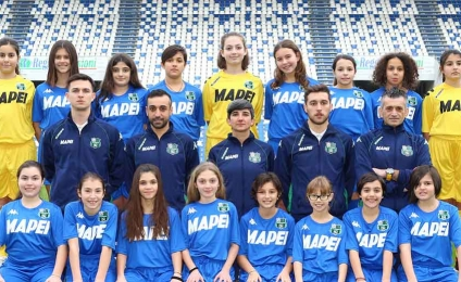 Sassuolo finalist for the Danone Nations Cup 2019