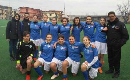 The female Napoli Under 15 in search of the scudetto