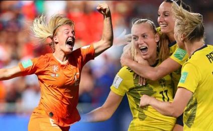 World Cup - semi-final: Netherlands - Sweden on Rai Sport