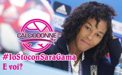 No gender discrimination in sport: Calciodonne.it is with Sara Gama and you?