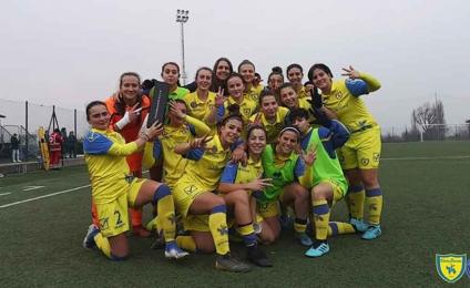 Chievo Fortitudo Women, crescendo victory for the Gialloblù!