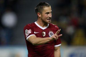 Lukas Vacha Sparta Prague midfielder