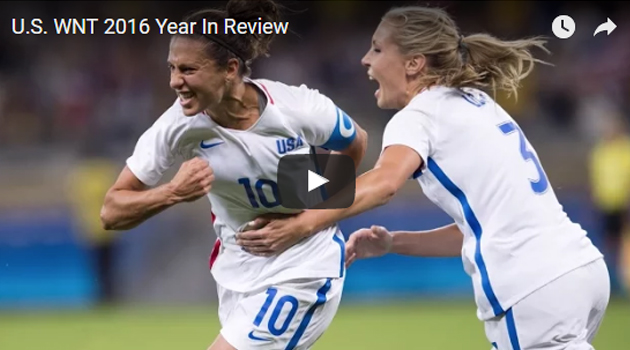 the 2016 of the US Women's National Football Team