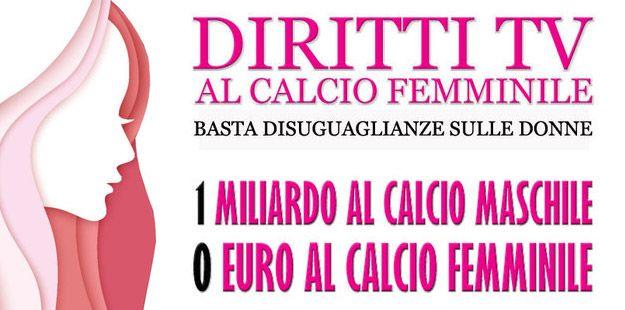 Diritti Tv Al calcio femminile