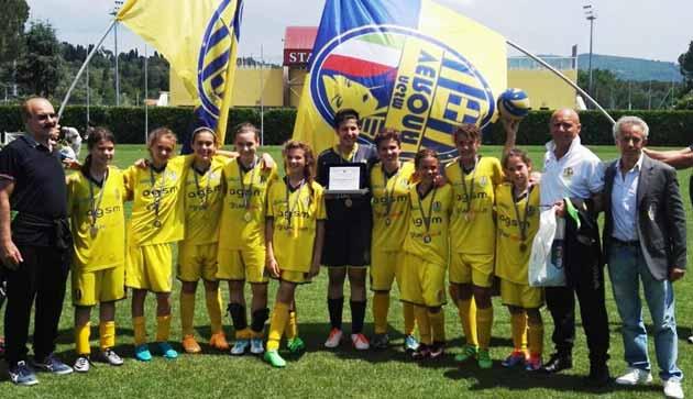 Verona U12 final Danone Cup