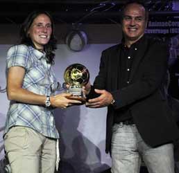 Elisabetta Tona, Antonio Cabrini 2012 gold ball