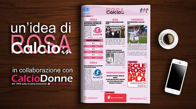 footballinrosa magazine calciodonne17