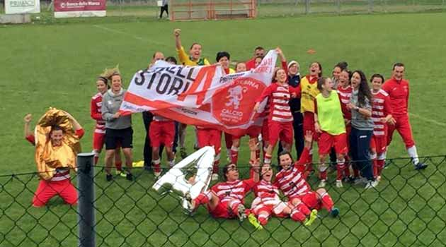 Jesina female promoted in Serie A