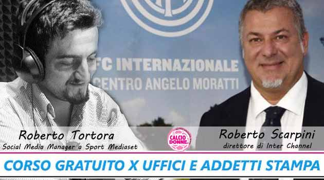 6 ° lesson with Roberto Tortora and Roberto Scarpini