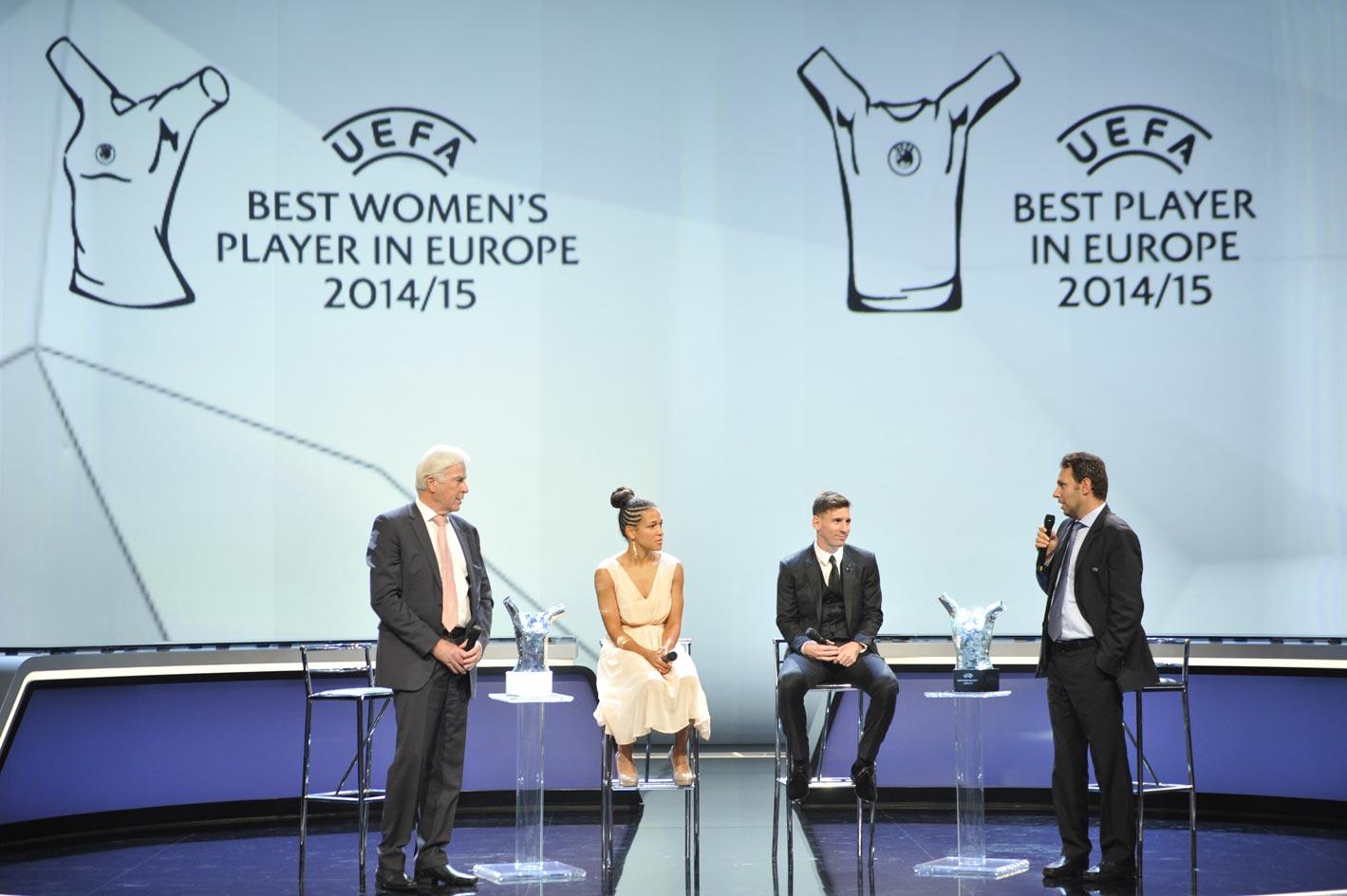 UEFA-EUROPEAN CLUB FOOTBALL KICK-OFF 2015