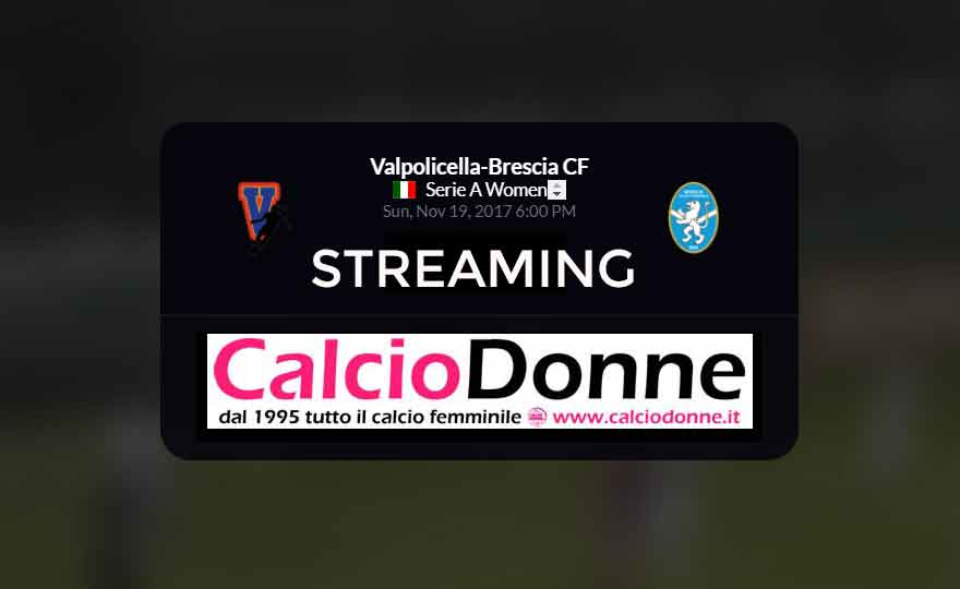 Streaming: Fimauto Valpo. - Brescia