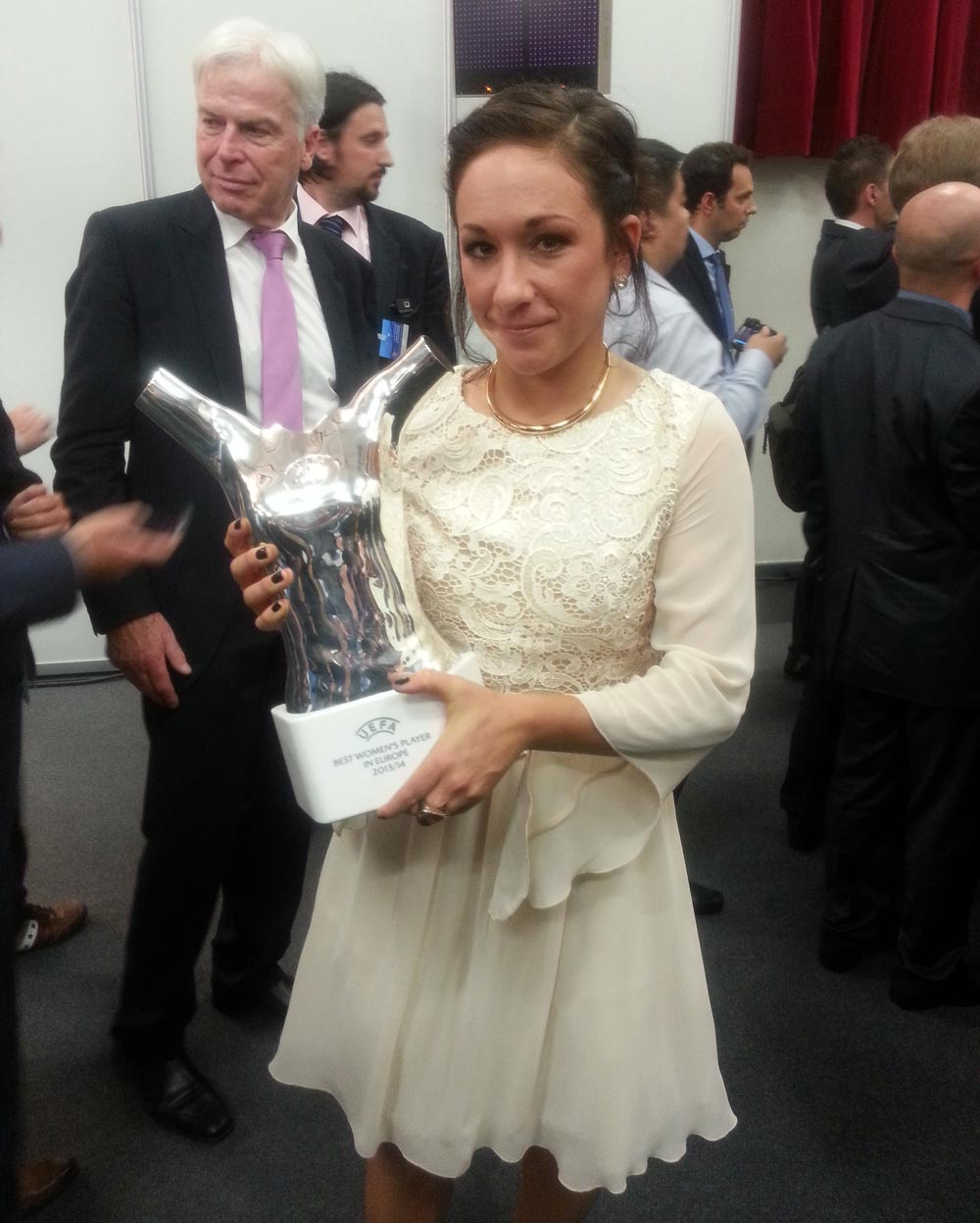 BEST WOMENS PLAYER IN EUROPE 2014