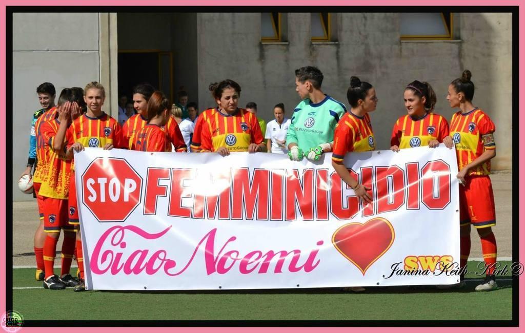 Stop femicide - Hi Noemi