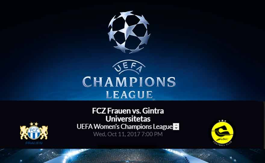 FCZ Frauen vs. Gintra Universitetas